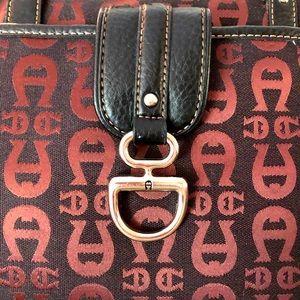 Etienne Aigner Signature Monogram Bag & Wallet Set